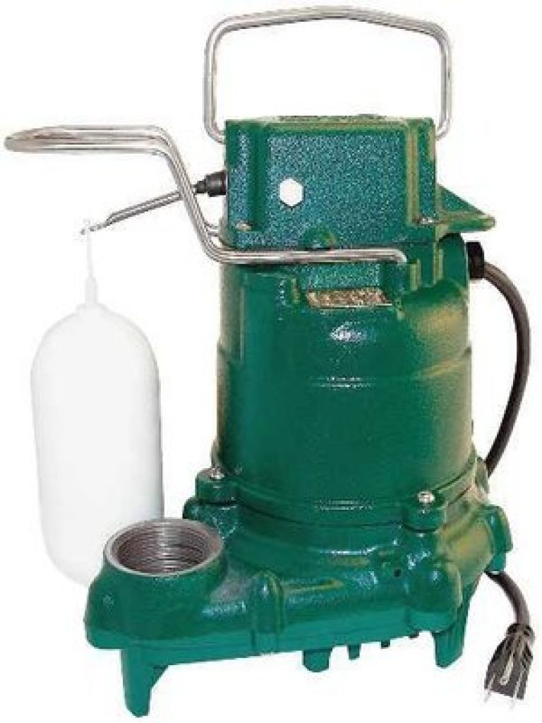 Zoeller M53 Mighty Mate 1 3 Hp Submersible Sump Pump