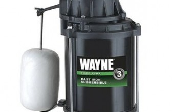 WAYNE CDU800 Submersible Cast Iron and Steel Sump Pump